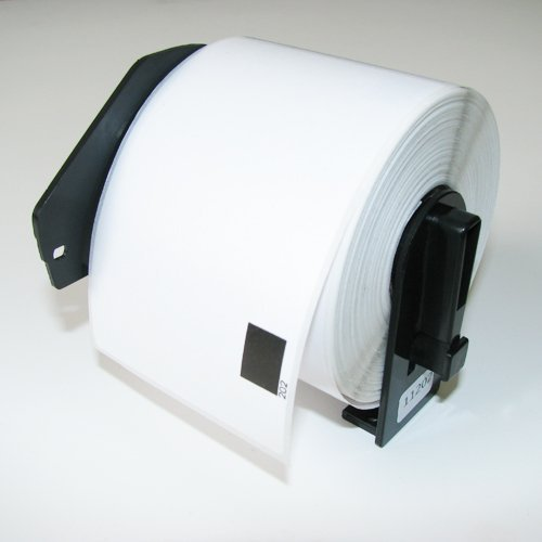 "20PK Brother Compatible DK1202 DK-1202 2-3/7""x4"" Die-Cut Shipping Labels with One Reusable Cartridge for Brother QL-500 QL-550 QL-570 QL-580N QL-650TD QL-700 QL-710W QL-720NW QL-1050 QL-1050N QL-1060N QL Printer"