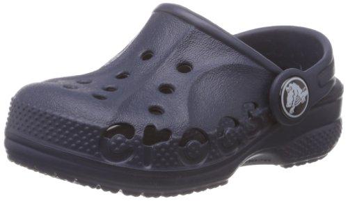 Crocs Boys Baya Kids Clog, Navy, 12-13 M US Little Kid
