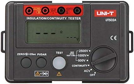 UNI-T UT502A 2500V Insulation Resistance Multimeter Megohmmeter Voltmeter
