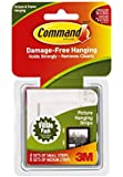Command Picture Hanging Strips 12-Pack, 4-Small, 8-Medium Strip Value Pack