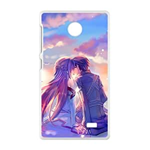 Beautiful romantic lover Cell Phone Case for Nokia Lumia X