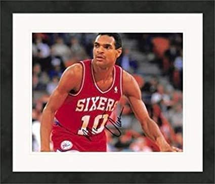 e9d1ca248614 Autographed Maurice Cheeks Picture - 8x10 1983 Champion Mo)  1 Matted    Framed -