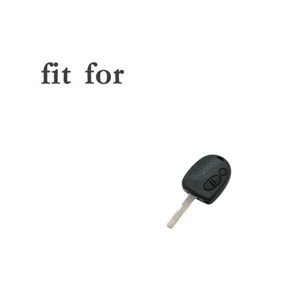SEGADEN Silicone Cover Protector Case Skin Jacket fit for HOLDEN PONTIAC 3 Button Remote Key Fob CV4550 Black