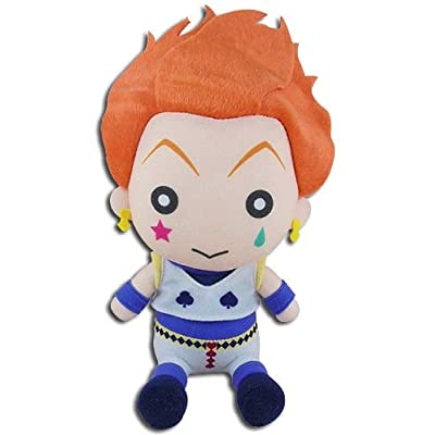 Great Eastern Entertainment Hunter X Hunter - Hisoka Sitting Pose Plush 7'': Toys & Games