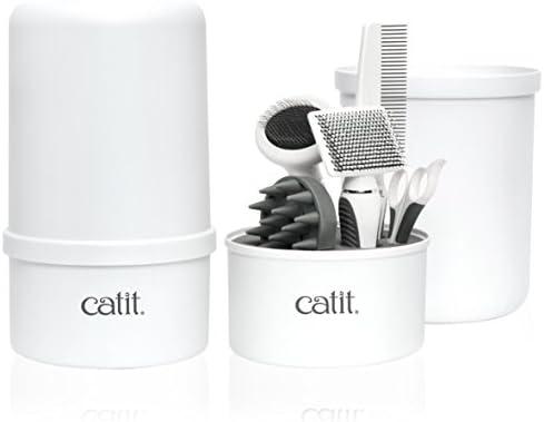 Amazon Com Catit Senses 2 0 Short Hair Cat Grooming Kit Pet Supplies