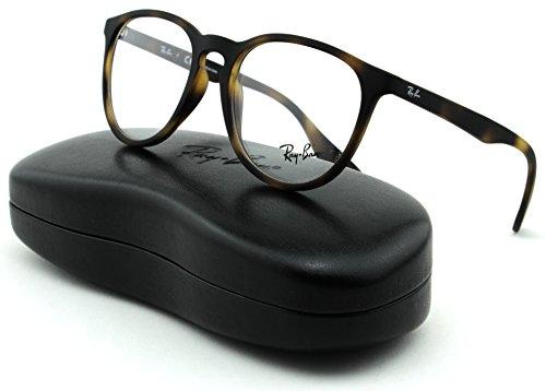 Ray-Ban RX7046 Women Rectangular Eyeglasses (Rubber Havana Frame 5365, - Frames Ray Female Ban
