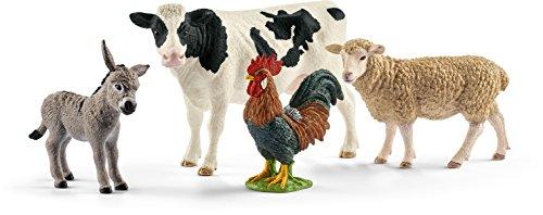 Schleich North America Farm World Starter Set Action Figure, Multicolor (Big Farm Barn)