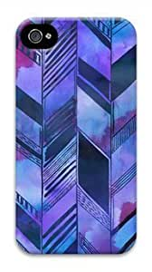Diy iphone 5 5s case Abstract Purple Pattern Customized Hard Shell iphone 4/5 5S Case On Custom Service