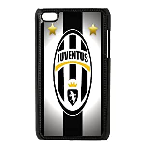 Juventus theme pattern design For Ipod Touch 4 Phone Case