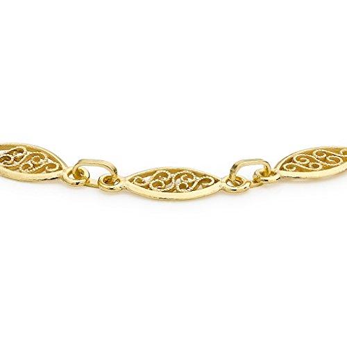 Carissima Gold - 1.20.6892 - Bracelet Femme - Or jaune (9 cts) 2.6 Gr