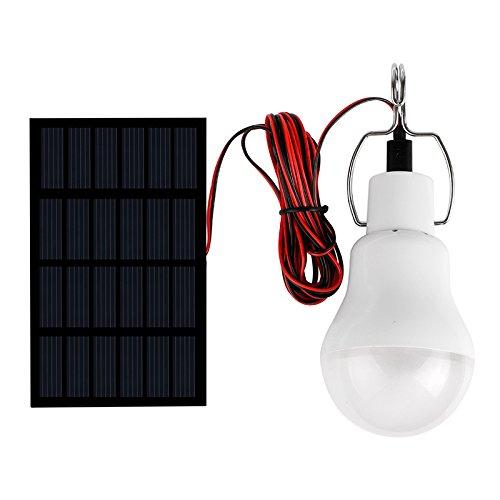 1w solar led flashlights solar tent light white light - 4