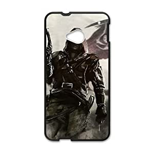 Assassins Creed Black Flag HTC One M7 Cell Phone Case Black persent xxy002_6010368