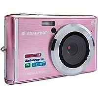 AGFA Photo DC5200 - Cámara de Fotos Digital compacta, Color Rosa