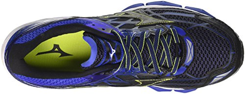 Creation Multicolore 19 de Mizuno Chaussures Blackblackdazzlingblue Bleu Wave Homme Running Px15wgq