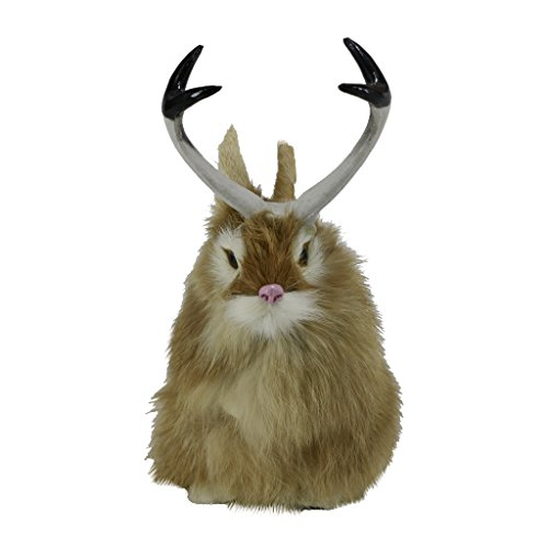 Flameer Realistic Lifelike Easter Jackalope Fake Rabbit for sale  Delivered anywhere in USA