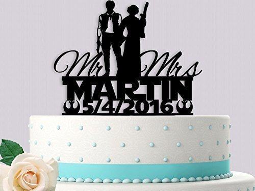 Amazon mr and mrs rebels wedding cake topper handmade mr and mrs rebels wedding cake topper junglespirit Choice Image