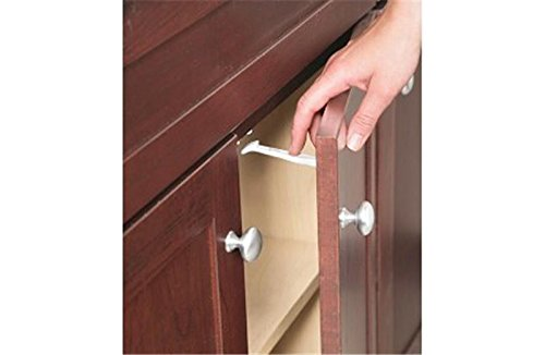 (Safety 1st 14 Pack Wide Grip Cabinet Locks & Drawer Latches Child Proof - 72321)