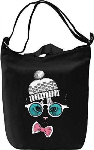Stylish Cat Borsa Giornaliera Canvas Canvas Day Bag| 100% Premium Cotton Canvas| DTG Printing|