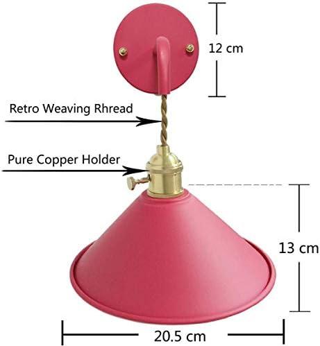 SILOLA Plug-in Dimmbares Wandlichtkabel und Dimmerschalter, Graue Kerze Wandleuchte für Wohnzimmer Schlafzimmer Badezimmer Küche Esszimmer, Flurtreppe