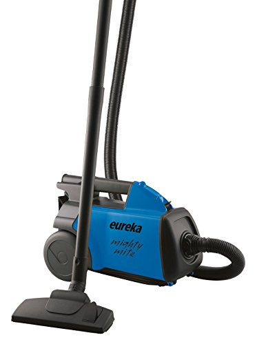 (Eureka Mighty Mite Bagged Canister Vacuum Cleaner Pet, 3670H-Blue)