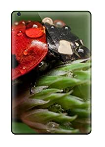 Ipad Mini Ladybug Print High Quality Gel Frame Cases Covers