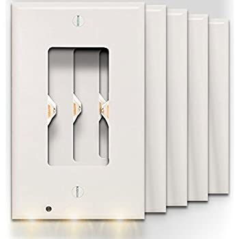 SnapPower Guidelight - Outlet Wall Plate With LED Night Lights ...