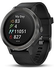 Garmin vívoactive 3 GPS Smartwatch - Black & Gunmetal