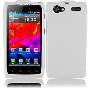 For Motorola Yangtze Electrify 2 XT881 XT885 XT886 XT889 MT887 Hard Cover Case White