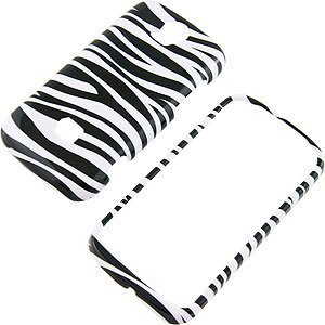 Zebra Stripes Protector Case for T-Mobile myTouch Q (Huawei myTouch