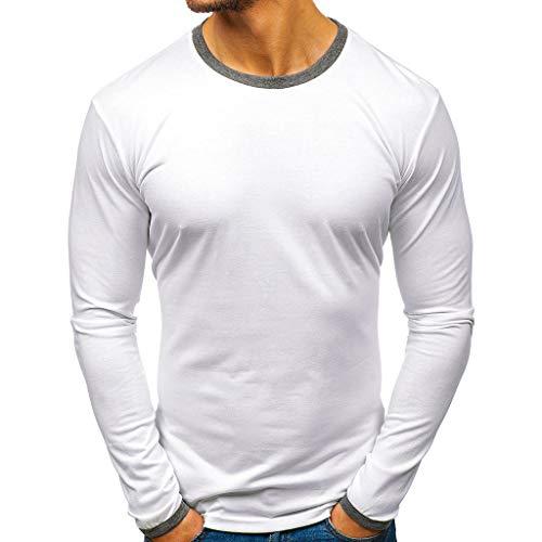 iHPH7 t-Shirt Men,Blouse Man,Shirt Men,Long Sleeve t-Shirt Men,Pullover Hoodie Men,Sweatshirt Men,Man t Shirts,Tops Men,Man Hoodie,Man Shirt, Man Hoodie,Macho Man Shirt M 1- White ()