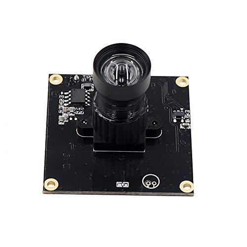 Shutter Module - Non Distortion Global Shutter High Speed 120fps Webcam UVC Plug Play Driverless USB Camera Module for Android Linux Windows Mac