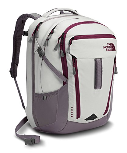 The North Face Surge Backpack - Women's Vaporous Grey Light Heather/Rabbit - Face Sunglasses North The