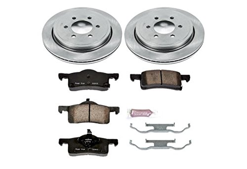 (Autospecialty KOE1935 1-Click OE Replacement Brake Kit )
