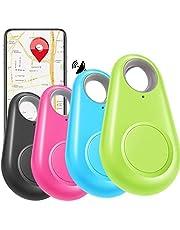 4 Pcs GPS Key Finder Smart Tracker Locator for Keys Pets Phones Wallets Bags Car Dog Cat Tracking Device
