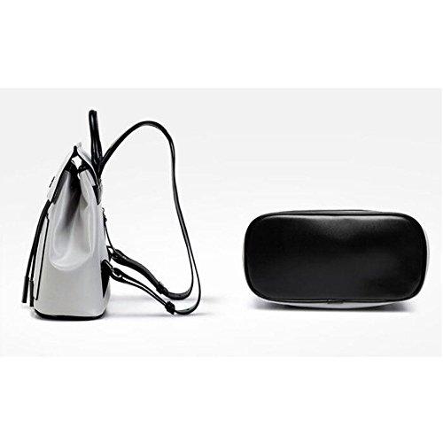 En Daypack Cuir Sac Dos Casual à Femmes QXMEI Black à Drawstring Schoolbag Filles Dos Pour Sac n6gqpIX