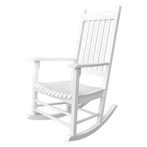 Chair Porch Rocker - Shine Company Vermont Porch Rocker, White