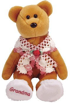 TY Beanie Baby - GRAMS GRAMS GRAMS the Grandmother Bear (Internet Exclusive) [Toy] 36d2df