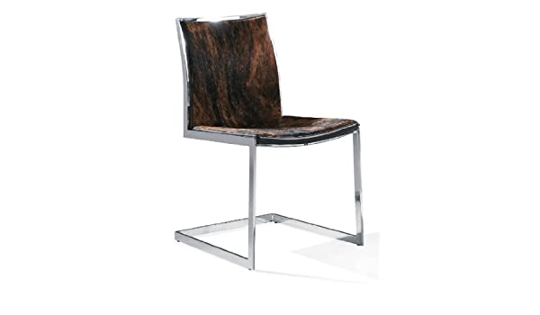 Peachy Amazon Com Rennes Dining Chair Cowhide Chairs Squirreltailoven Fun Painted Chair Ideas Images Squirreltailovenorg