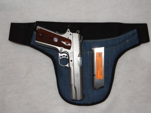 LARGE - Deep Concealed Crotch Carry Handgun Holster - The smart way to carry! from DON'T TREAD ON ME CONCEAL AND CARRY HOLSTERS