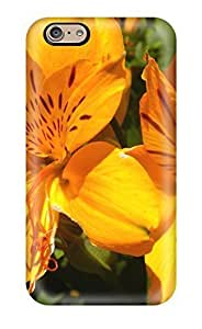 6390853K83963400 For Case Samsung Note 4 Cover - Retailer Packaging Orange Flowers Protective Case