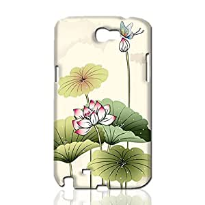 Butterfly Flying 3D Rough Case Skin, fashion design image custom, durable hard 3D case cover, Case New Design for Samsung Galaxy Note 2 , By Codystore