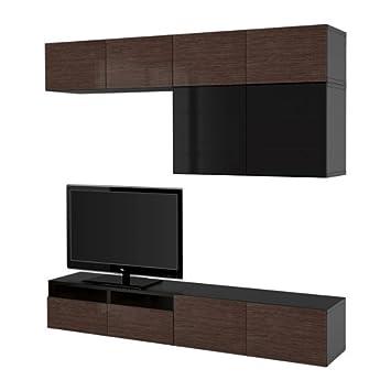 Ikea 26382.26511.204 - Combinación de Puertas de Cristal para TV ...