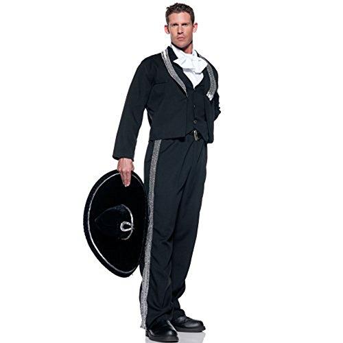 Mariachi Costume Man (Men's Mariachi Musician Costume - Standard Size)