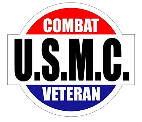 (1 Pc Blameless Popular U.S.M.C. Combat Veteran Car Sticker Hard Hat Decal Marines Corps Weatherproof Size 2