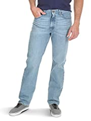 Wrangler Authentics men's big and tall classic 5-pocket regular fit jean. This versatile jean is constructed with durable materials and built for long-lasting comfort. Made with a straight leg fit, this jean sits at the natural waist and feat...