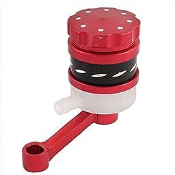 Motorbike Braking System Master Brake Oil Cup Red