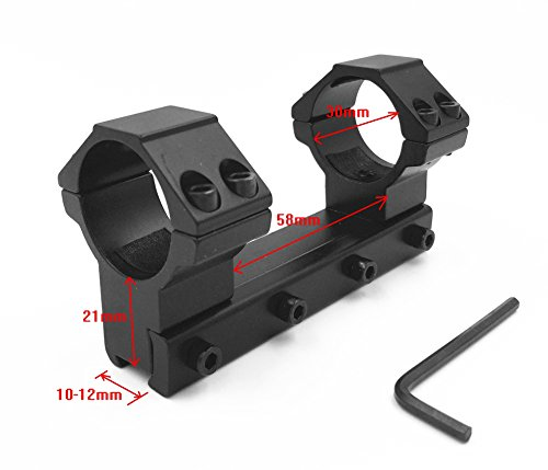 Integral Scope Mount Airgun Mount with Stop Pin 30mm