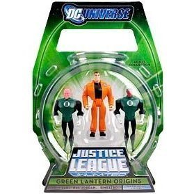 Justice League Unlimited 2009 SDCC San Diego Comic-Con Exclusive Action Figure 3-Pack Green Lantern -