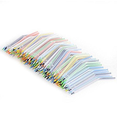 First Dental 100Stück Einweg Colorful Dental Spray Nozzles Tipps 3-fach-Spritze