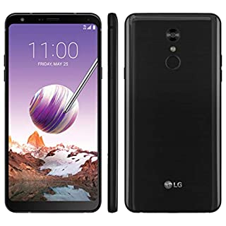 "LG Stylo 4 32GB GSM Unlocked (AT&T/T-Mobile) 6.2"" FullVision Display Smartphone – Aurora Black"
